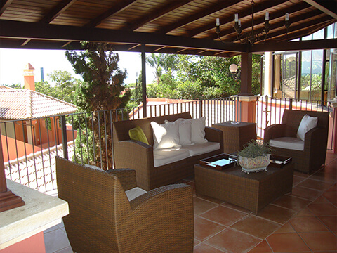 Pátio do Cipestre - Áreas Comuns - Pousada Villa Friuli Residence